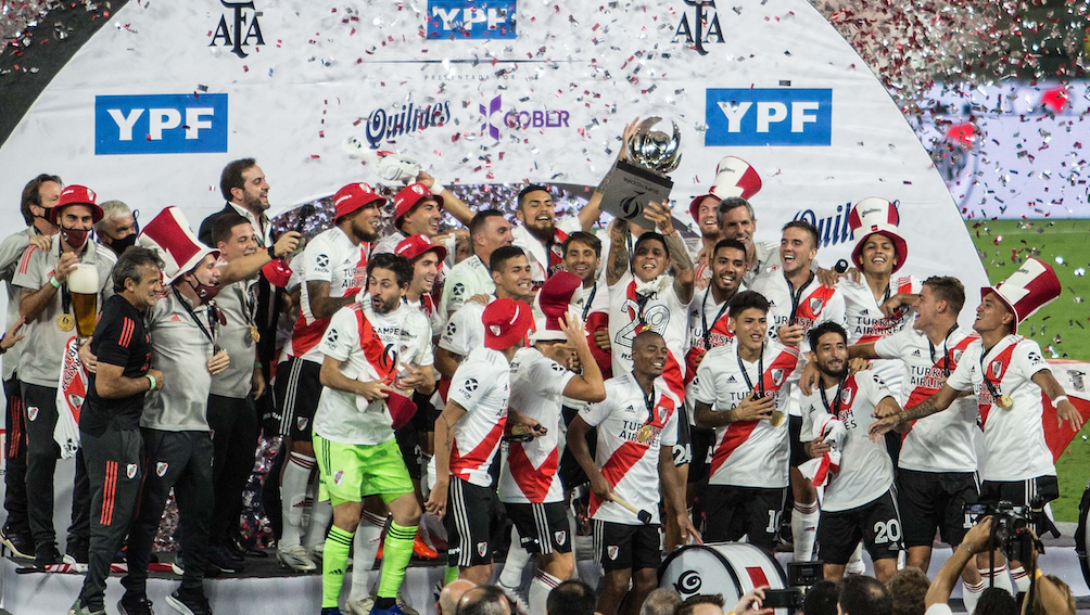 River Supercopa Argentina 1