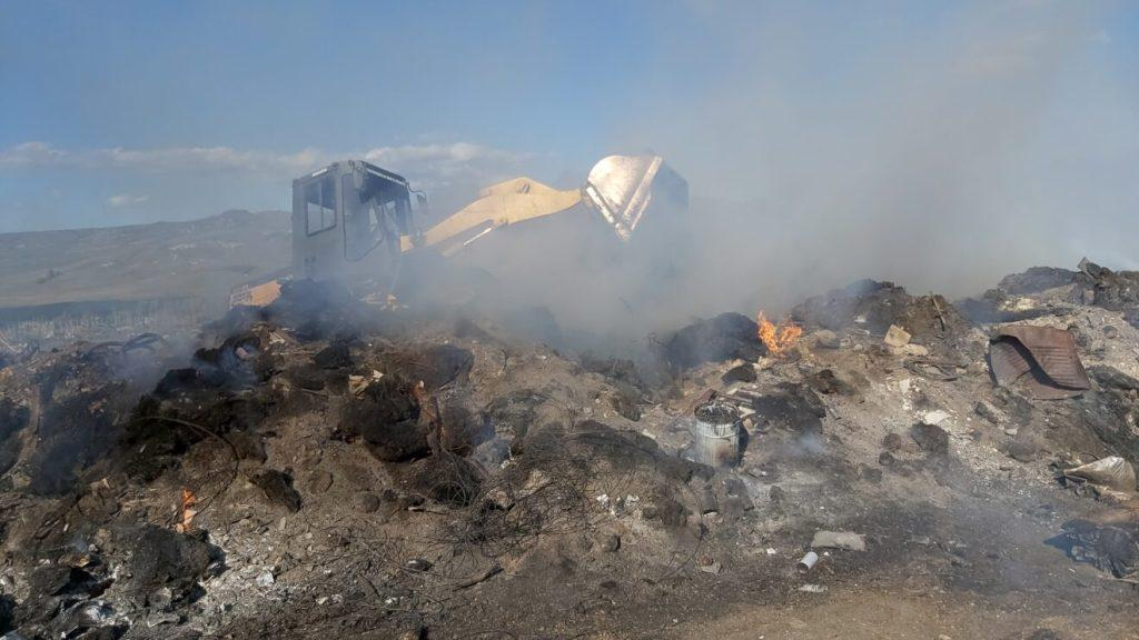 Incendio en Junín de los Andes 2